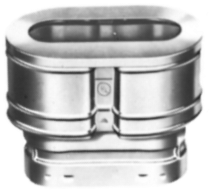 AmeriVent Oval Cap  sc 1 st  AmeriVent : oval to round stove pipe adapter - www.happyfamilyinstitute.com