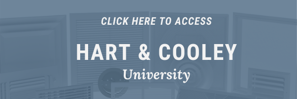 Hart & Cooley University Training Banner