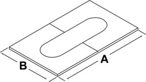 AV_TLCACP_Adjustable Ceiling Plate