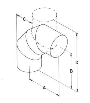 AV_EAL_TBGV line art adjustable 90-degree L
