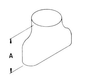 AV_OE_TBGV line art adapter oval
