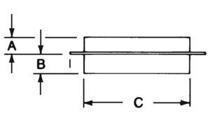 AV_pg10 AV PL-CSS-BK Ceiling Support Square prod dim