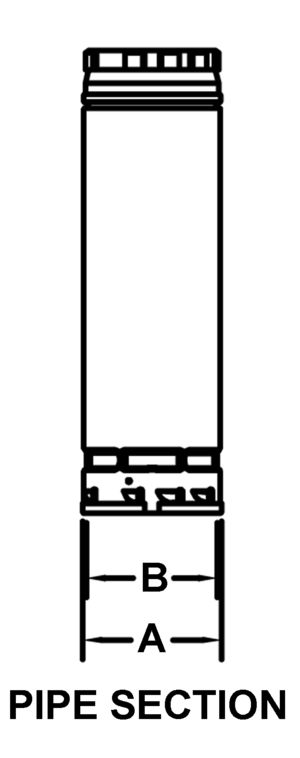 AV_PSV_PV Pipe Section drawing