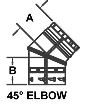 Psv 45 45 Degree Elbow Amerivent