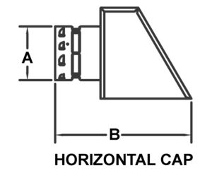 AV_PSV-HC_PV Horizontal Cap drawing