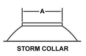 AV_ESC_PV Storm Collar drawing