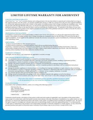 z - Cover Image: warranty information