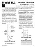 z - Cover Image: Insulated Tee & Elbow and Wall Support Installation Instructions